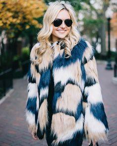 Just saw that my favorite patchwork faux fur jacket is 40% off!!  Shop it with @liketoknow.it  www.liketk.it/2aVXt #liketkit #fauxfur #ltksalealert // : @ironandhoney by bowsandsequins