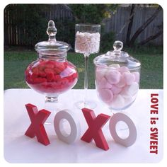 Valentines Day Candy Buffet Mini ....