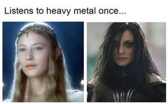 A lady being a metalhead ? YESSSS