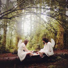 Forest Fairies XXIV by Ella Ruth