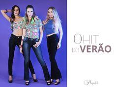 O hit do verão com tudo! E as calças jeans People's serão as queridinhas para produções mais elaboradas! <3