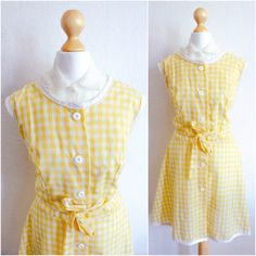 1950's Sunshine Picnic Jackie O Dress by LAPraxis on Etsy