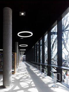 Bibliothek in Birmingham von Mecanoo und Kreise - Architektur und Architekten - News / Meldungen / Nachrichten - BauNetz.de