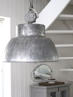 industrial oversize light fixture