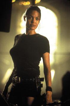 Angelina Jolie Lara Croft Angelina Jolie, Tomb Raider Angelina Jolie, Angelina Jolie Movies, Angelina Joile, Angelina Jolie Pictures, Tomb Raider Film, Tomb Raider 2001, Tomb Raider Lara Croft, Tomb Raider Costume