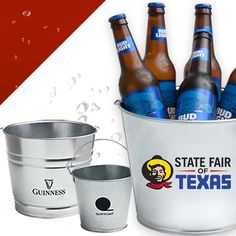Get people talking about your brand with a Custom Galvanized Metal Bucket! To order, contact Liz at Liz@trophiesinc.com! #promotional #custom #products #display #brand #branding #corporatebranding #tradeshow #leavebehinds #corporategifts #fun #cool #musthave #inspiration  #marketing #funmarketingideas #marketingideas #promotionaltools  #bucket #beer #coldone #partyideas #partysupplies #partyinspiration