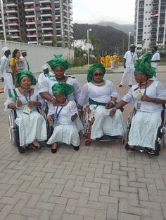 Nigeria Para-Athletes At Rio Paralympics In Brazil (Photos) - Sports - Nigeria