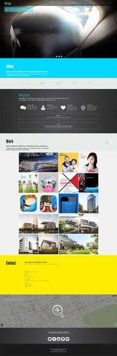 기업홈페이지, 회사홈페이지, 홈페이지디자인, 홈페이지 디자인, 반응형, 디자인회사 홈페이지  for Company's web page Site Design, Communication, Website, Website Designs, Communication Illustrations, Yard Design, Design Websites