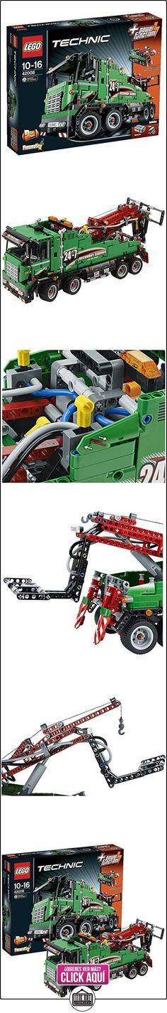 LEGO Technic - Camión de asistencia, juegos de construcción (42008)  ✿ Lego - el surtido más amplio ✿ ▬► Ver oferta: https://comprar.io/goto/B00B0ICW5W