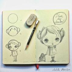 Isabelle Kessedjian: DIY : dessin du mercredi #7