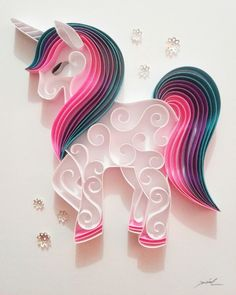 23 Easy Paper Quilling Ideas For Kids Paper Quilling For Beginners, Paper Quilling Tutorial, Paper Quilling Cards, Paper Quilling Jewelry, Paper Quilling Patterns, Quilled Paper Art, Quilling Techniques, Quilling Ideas, Arte Quilling