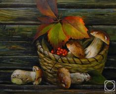Андрианов Андрей. Натюрморт с белыми