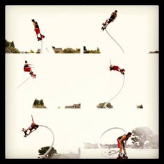 My nephew Bryan just got selected to go to an international competition for the new sport Flyboarding. Yahoo!