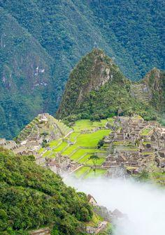 Machupicchu, Cusco, Peru. http://www.inkatrail.com.pe/
