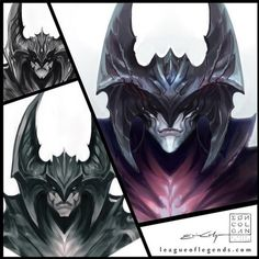 Riot should really start treating Aatrox as a dark being with his future skins
