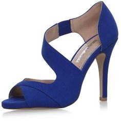 Blue High Heel Shoes by Miss Kg (€26) ❤ liked on Polyvore featuring shoes, pumps, heels, blue, blue high heel pumps, blue pumps, blue high heel shoes, high heeled footwear and blue shoes