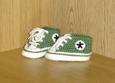 : New free patterns for infant Converse!