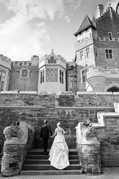 Paul & Jessica Getting Married – Casa Loma, Toronto ON