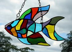 Stained Glass Fish by Neil Witney
