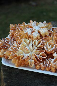 Rozetki - skandynawskie smażone ciasteczka