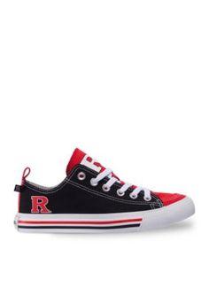 SKICKS  Red Rutgers Unisex Low Top Sneaker