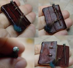 Miniature Wand lock book By EV Miniatures