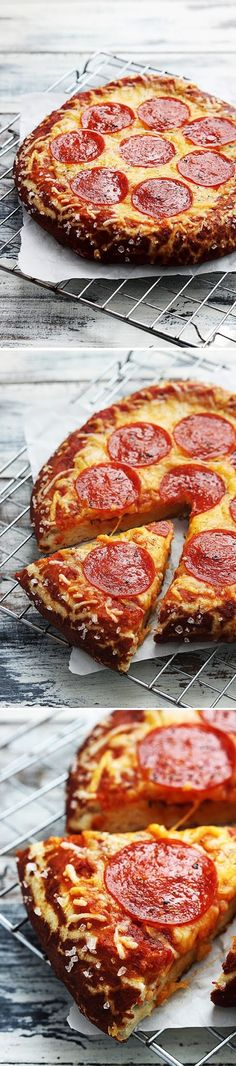 Pretzel crust pizza. .. has to be even better than Little Caesars!