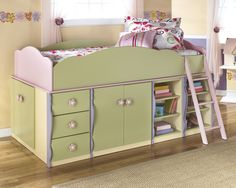The 'Doll House' storage loft bed