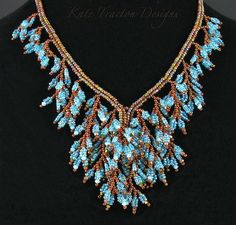 Fringed Foliage Necklace