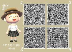 Animal Crossing 3ds, Animal Crossing Qr Codes Clothes, Motif Kimono, Acnl Paths, Animal Games, New Leaf, Pink Fashion, Things That Bounce, Projects To Try
