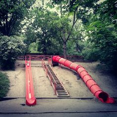 Find the long slides on Gellért-mountain. :) Be child!
