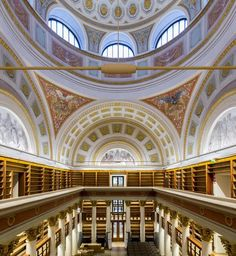 The National Library of Finland. Architect:C. Beautiful Buildings, Beautiful Places, Finland Travel, Cultural Events, Helsinki, Old Pictures, The Good Place, Places To Go, Culture