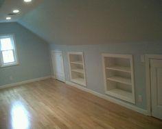 built in shelves...cool
