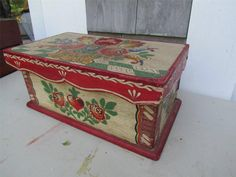 Furniture Inspiration, Painting Inspiration, Walking Poses, Shabby Chic, Country Paintings, Painted Boxes, Tole Painting, Alsace, Art Forms