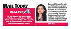 Quote of Ms. Soumya Das (Director-RIPL) on 'Land Pooling Policy' covered in Mail Today. Happy Ganesh Chaturthi, Lord Ganesha, A Team, Ms, Software, Happiness, The Unit, Training, Peace