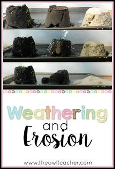 Teaching science can be engaging with this hands-on activity. This experiment helps students see that weathering and erosion can be slowed down but not stopped. Check out this science teaching idea for your elementary classroom!