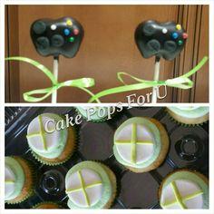 Xbox cake pops.