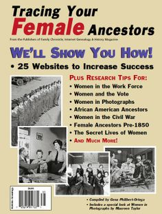 Gena's Genealogy: Telling HerStory 2014: Tracing Your Female Ancestors. #WomensHistoryMonth #genealogy