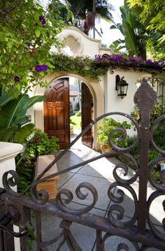 This Mad Beautiful Life: London Residence - Mediterranean Patio - los angeles - C C Partners Design/Build Firm