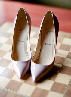 classic nude christian louboutin pumps. #shoeporn