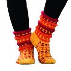 Sukat, tossut ja säärystimet - Lankamaailma Projects To Try, Socks, Knitting, Fashion, Moda, Tricot, Fashion Styles, Breien, Sock