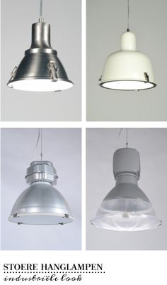 Kennismaking met de industriële hanglampen van Rietveld licht