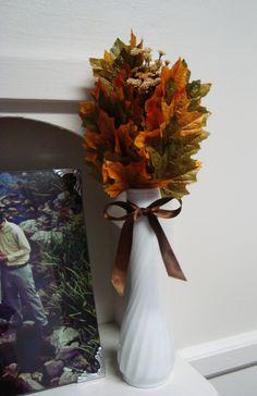 #DIY #Autumn Leaf #Bouquet | JWo Designs