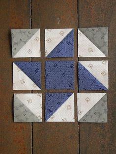 Quilts Heartspun quilt block ~ Pam Buda