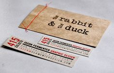 This might be a great idea...create a business card...then sew on two smaller MOO type cards with incentives...hmm....