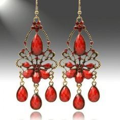 DISNEY Earrings With Simulated gems Crafted in Rose Base metal ...
