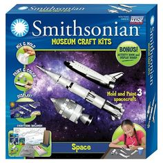 Smithsonian®️️ Museum Craft Kit - Space  #ad