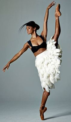 Star ballerina Misty Copeland gets a new TV series and film