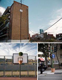 Clever Guerrilla Urban Art Installations