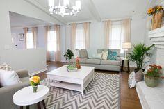 Mayra & Chris' LIVING ROOM REVEAL   Buying & Selling